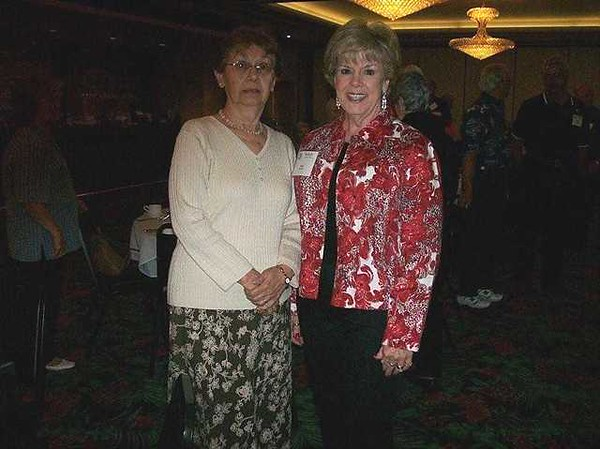 Kathy Stikeleather and Sally Bolin