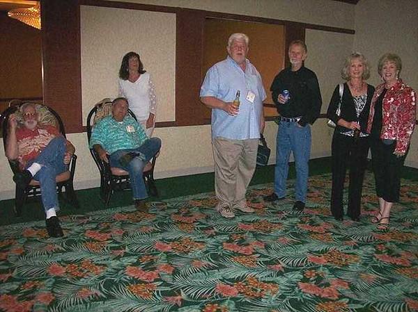 Ray McPeek..Sam Edmundson..Bernice Edmundson..Brian Bernston..Jim Thomas..Kathy Bernston..Sally Bolin