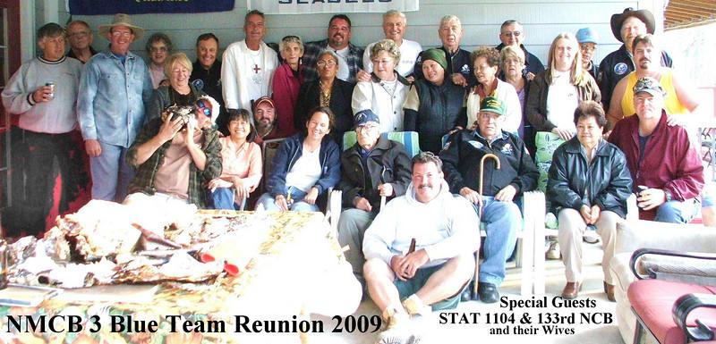 NMCB-3 Blue Team Reunion - Gulfport 2009