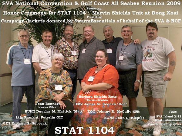 SVA National Convention and Gulf Coast All Seabee Reunion 2009