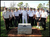 South Florida Islands Commanders and others  - Ray Cochran<br /> The dedication of the Seabee Monument at the Bay Pines National Cemetery near St. Petersberg, Florida.