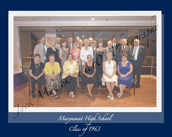Marymount High School Reunion 1963