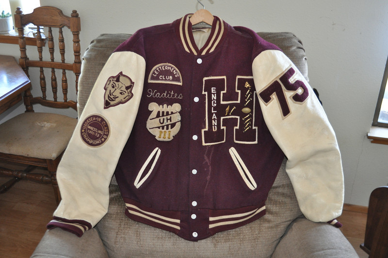 Front view of jacket