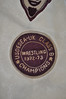 Wrestling campionship patch