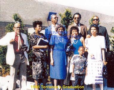 1986 Terrances Graduation
