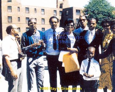 1986 Rays Graduation Text