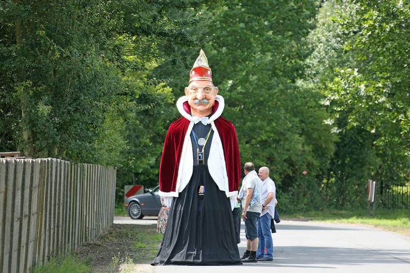 04/08/2012 - Reus Keizer Karel I op weg naar Rupelmonde