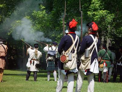 Ger Flatts  Rev war reenactment day two 6/05