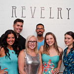 The Revelry Crew: Lauren Hendricks, Scott Howe, Mo McKnight Howe, Micah Cargin, Molly Huffman and Miya Griffin.