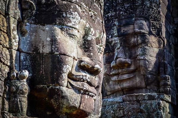 Faces at Bayon Temple, Angkor Wat