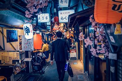Omoide Yokocho, Shinjuku, Tokyo