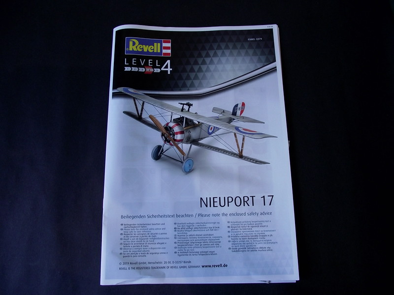 REVIEW - 1/48 Revell Nieuport 17 - Mainly Military Modelling