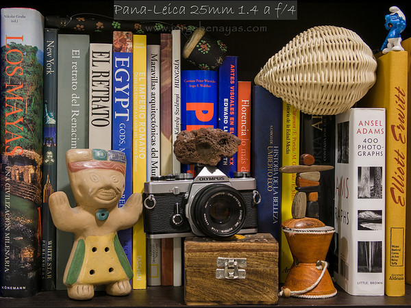 Pana-Leica 25mm 1.4 a f/4