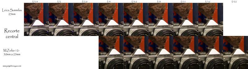 Leica 25mm vs M.Zuiko 12-50mm a 25mm - Recorte en esquinawww.jorgebenayas.com