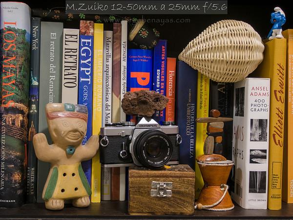 M.Zuiko 12-50mm a 25mm f/5.6