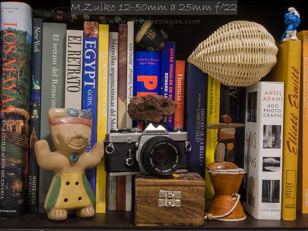 M.Zuiko 12-50mm a 25mm f/22