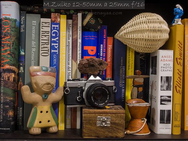 M.Zuiko 12-50mm a 25mm f/16