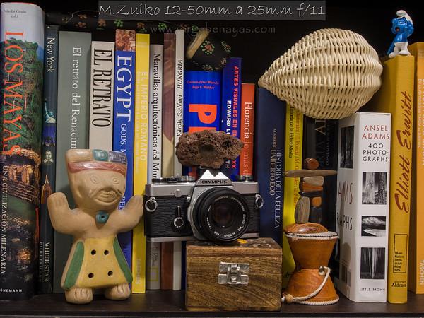 M.Zuiko 12-50mm a 25mm f/11