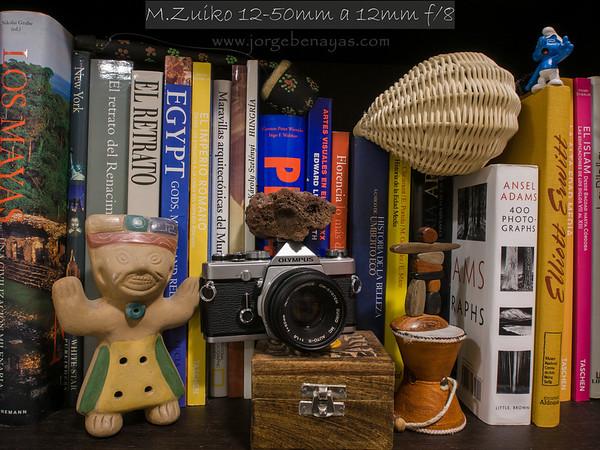 M.Zuiko 12-50mm a 12mm f/8