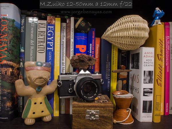 M.Zuiko 12-50mm a 12mm f/22