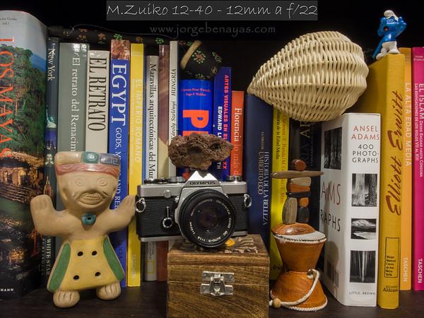 M.Zuiko 12-40 - 12mm a f/22