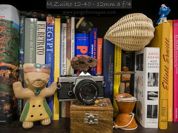 M.Zuiko 12-40 - 12mm a f/4