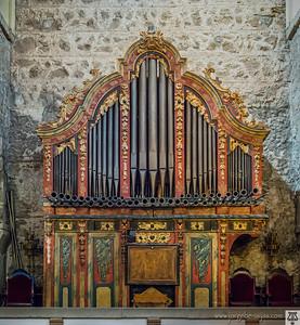 Órgano barroco de la Iglesia de Santiago (Talavera)