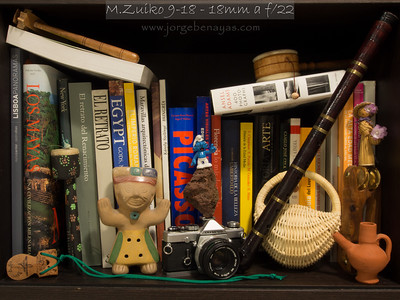 M.Zuiko 9-18 - 18mm a f/22