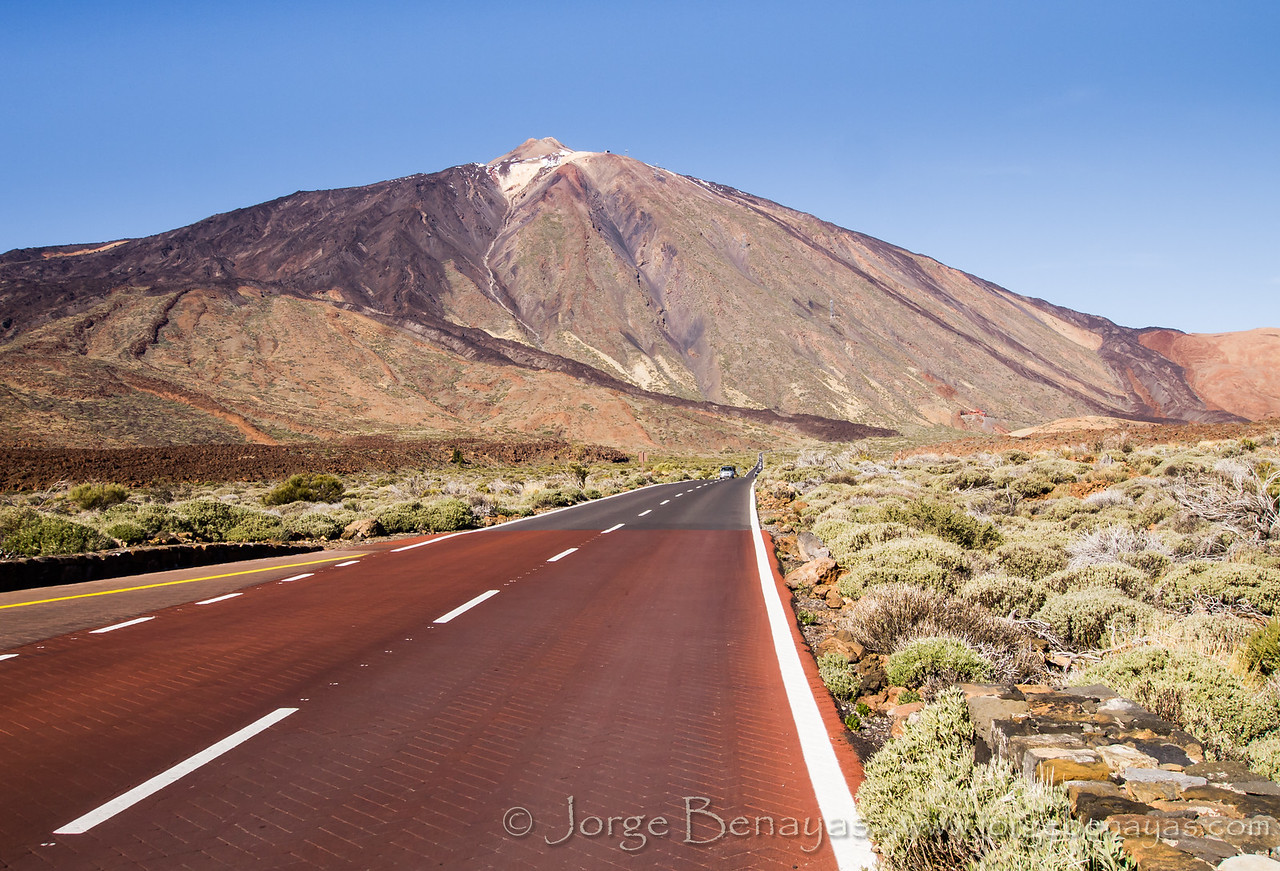 La carretera del Volcán