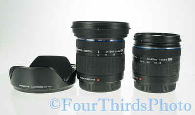 9-18mm Stock shots 9-18mm compared to the 14-42mm.