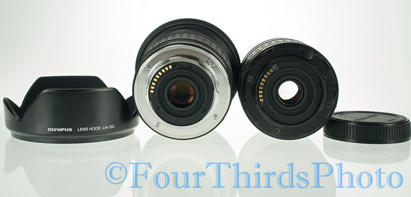 9-18mm Stock shots Metal rear flange. But of course the lens costs 2-3X that of the cheap kit lens.