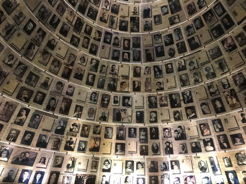 Yad Vashem, holocaust memorial.