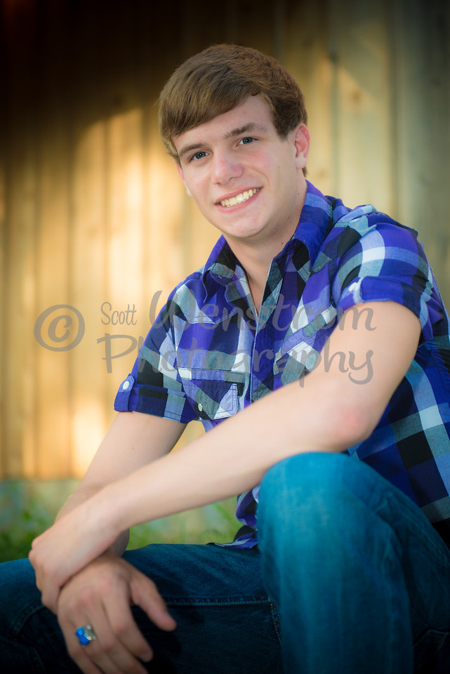 "Thank you for the extra senior pics of Colin... You gave me that ""heart warming, awww moment"" this mom was looking for…"