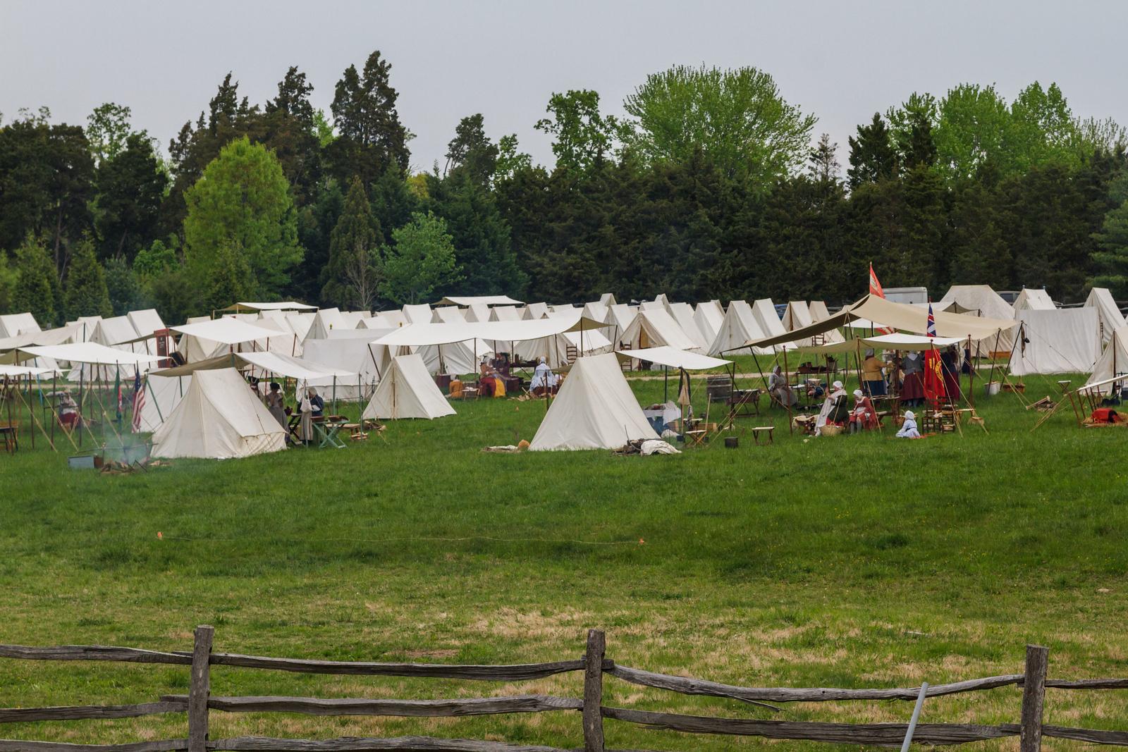 Continental Army Encampment