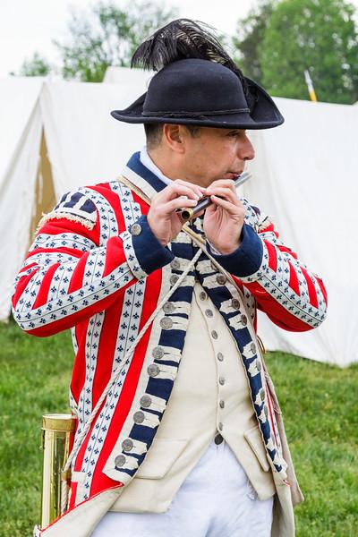 British fife player