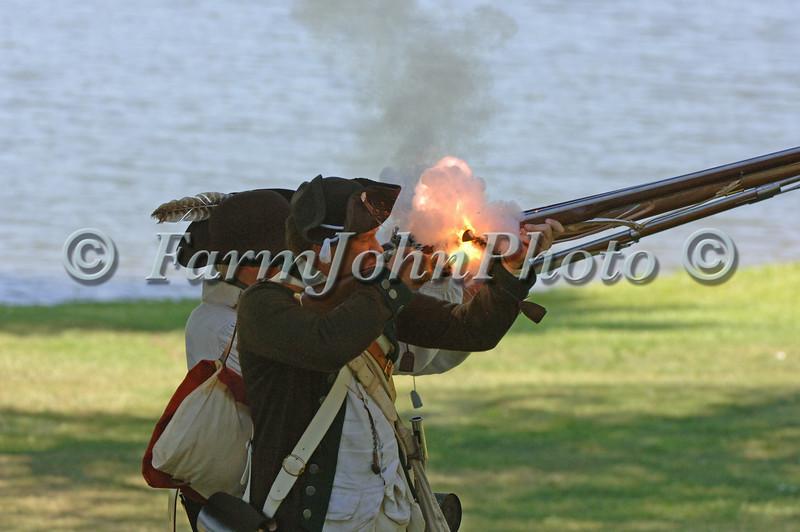 Revolutionary War Re-enacting