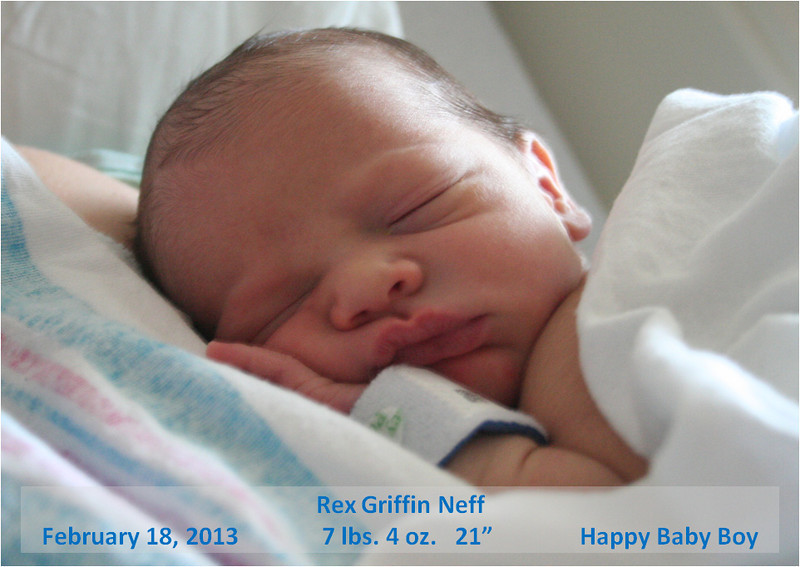 We are joyous to add Rex to our family. Expect to see a lot of pictures of the little guy in the coming months.