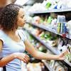 Woman shopping at super market
