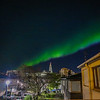 Northern Lights in Reykjavik