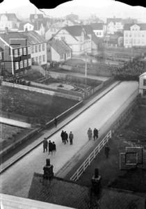 1921-hvitastriðið-Suðurgata-ÓskarGíslason