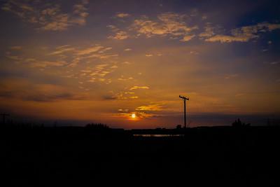 Sunset over Reykjavík