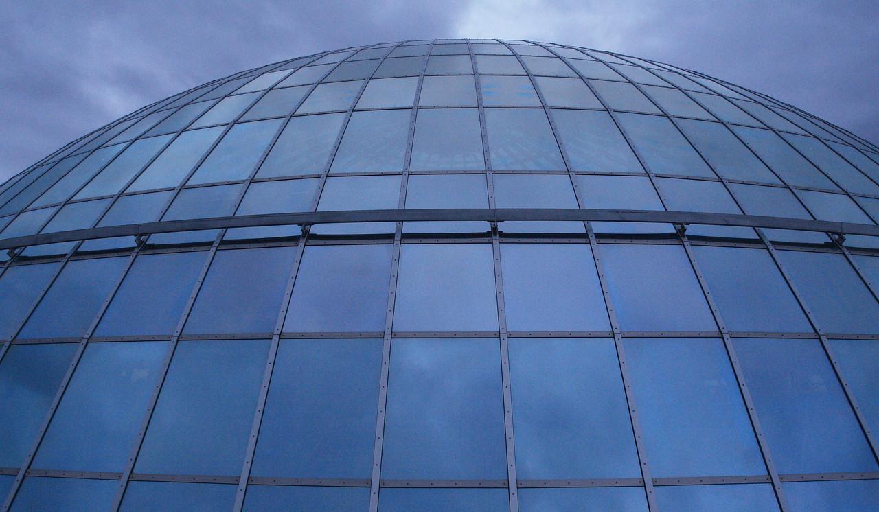 Ρέικιαβικ. Κτίριο Perlan (λεπτομέρεια)