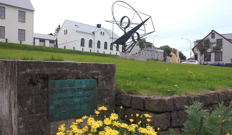 Ρέικιαβικ. Η Εθνική Συνέλευση (Þjóðfundurinn)