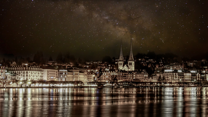 Lucerne At Night