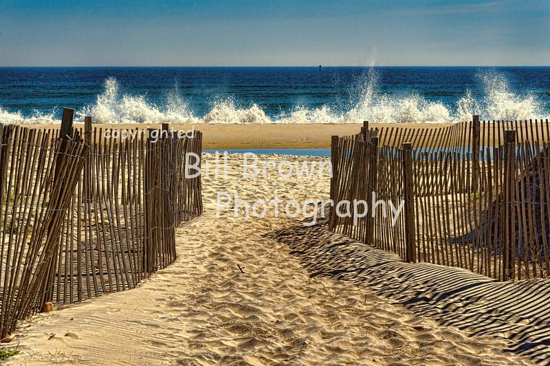 Hitting the Shore