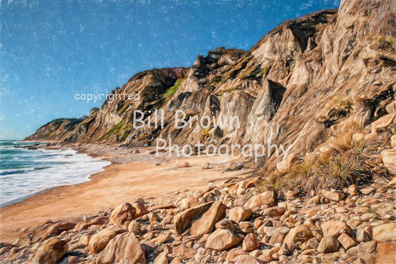 Mohegan Cliffs Shoreline