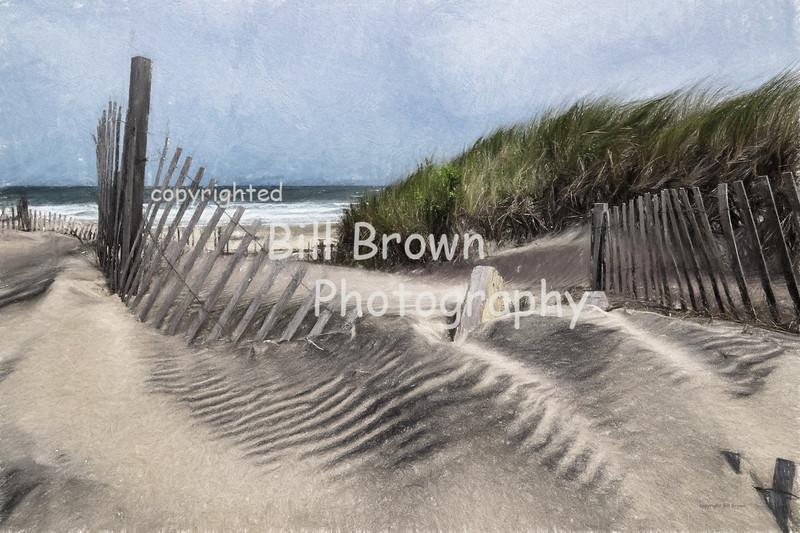Shifting Sand and Surf