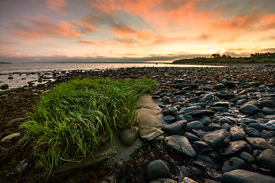 Beautiful Sunrise in Sachuest Point National Wildlife Refuge, Rhode Island
