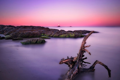Sakonnet Lighthouse at Sunrise