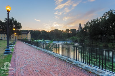 Slater Mill Sunrise